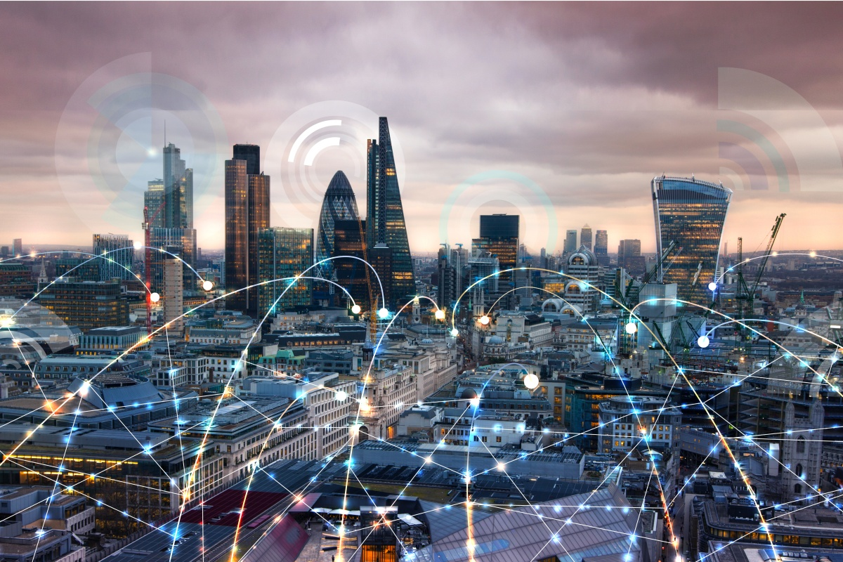 Londoners use 38 million gigabytes of mobile data, a fifth of all the mobile data in the UK