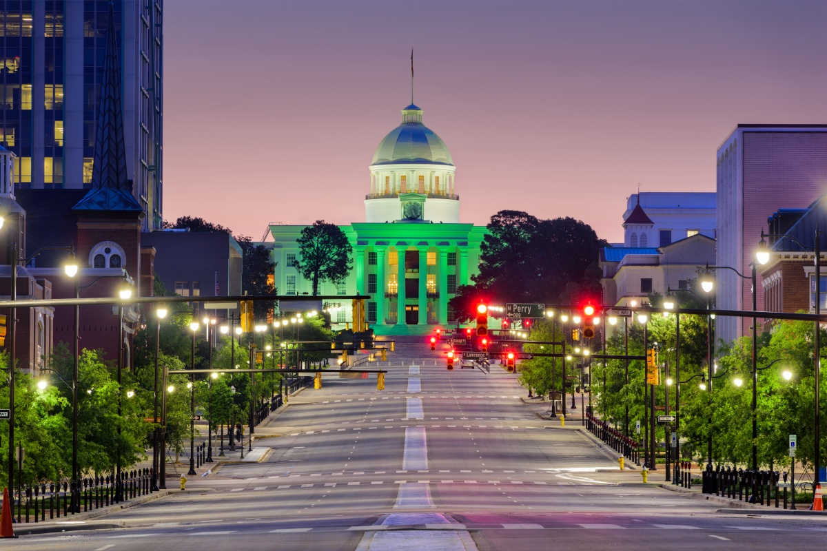 The smart cities lab is being established in downtown Montgomery