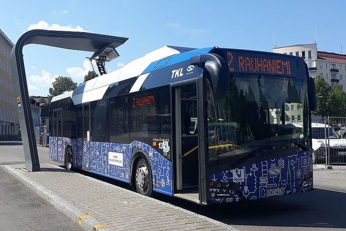 Tampere is monitoring and measuring the evolution and benefits of electric buses