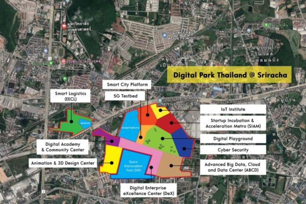 Private-public partnership plan for Digital Park Thailand