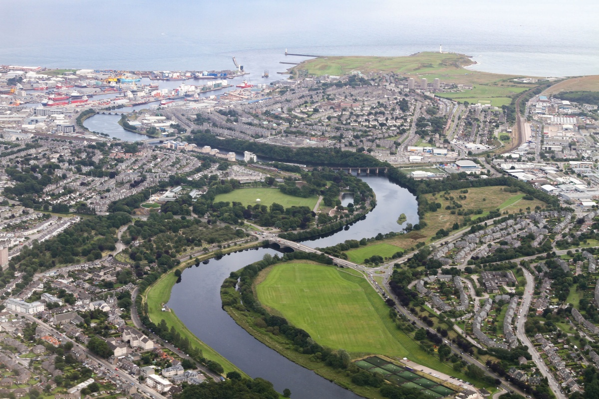 The city-wide IoT network will provide a third layer of connectivity for Aberdeen
