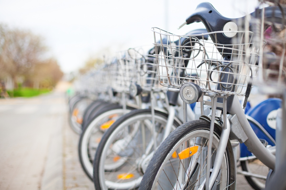 Bicycle parking has to be made as easy as possible to encourage bicycle use