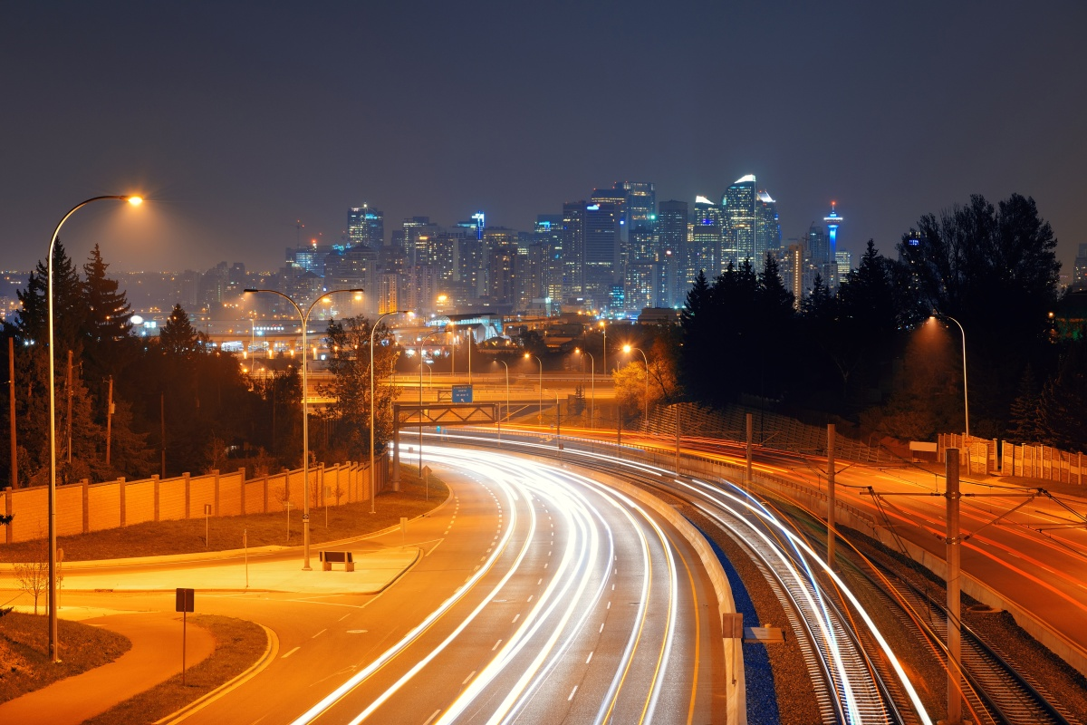 StreetLight Data can provide traffic counts for Canadian cities such as Calgary