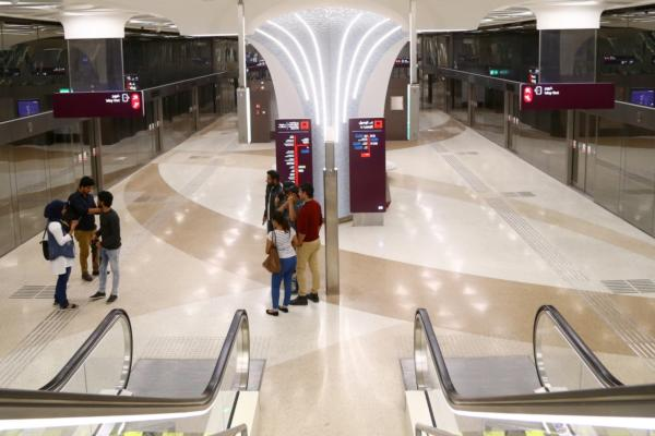 Phase one of Qatar's first urban rail network opens