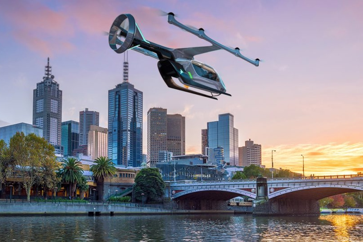 Uber's air taxi aims to help reduce the heavy reliance on private car ownership