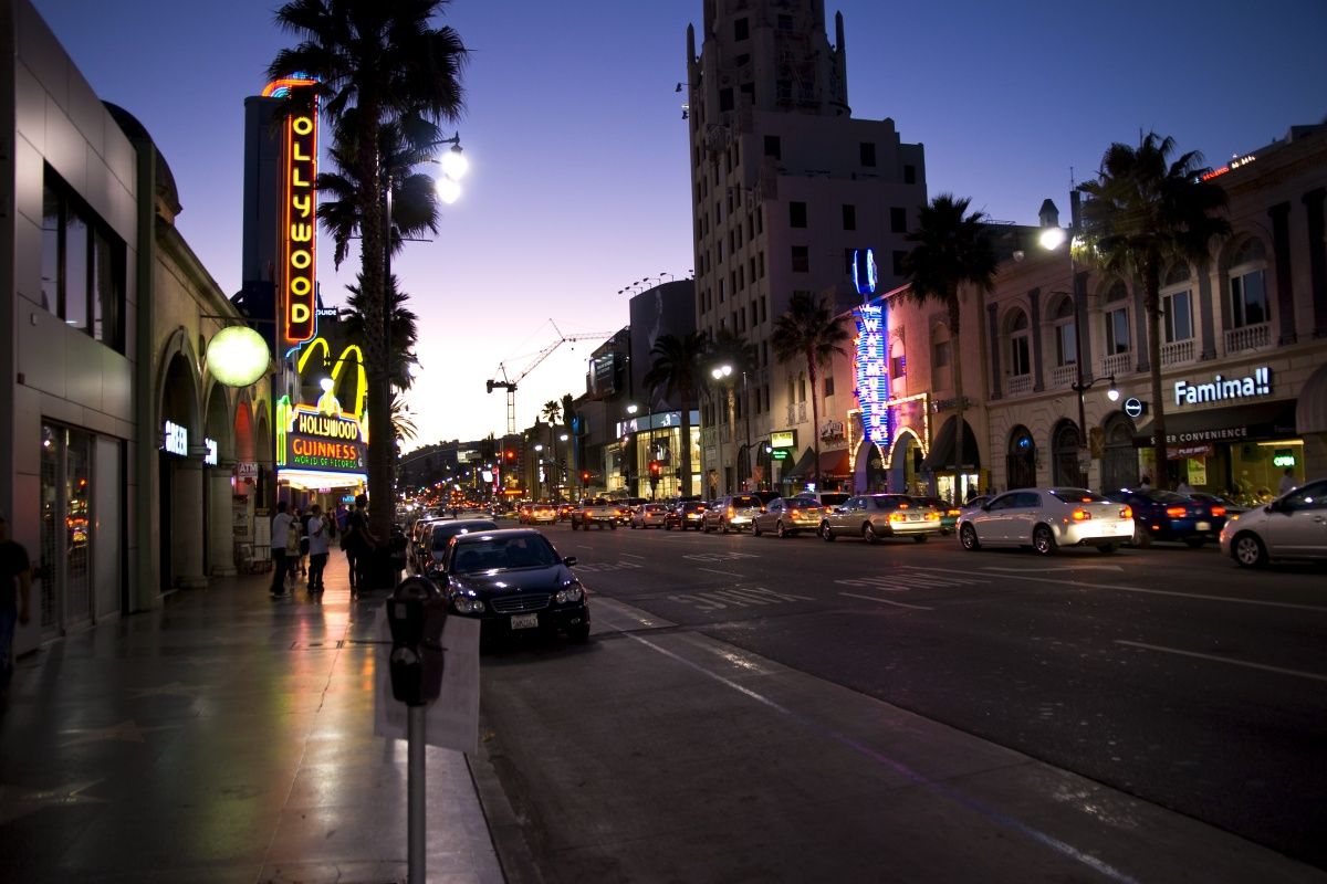 The first hub in the network opened on Hollywood Boulevard last month