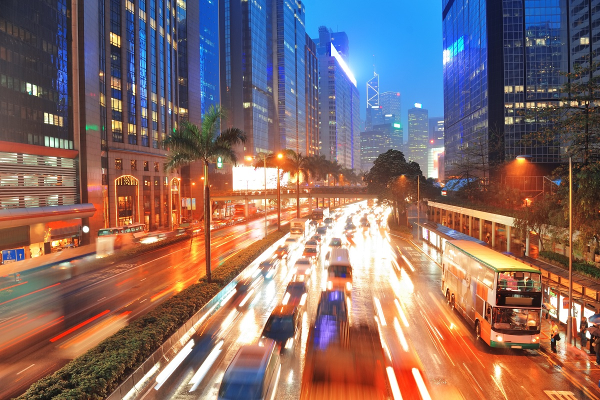 Hong Kong stood out as a city with a high share of sustainable transport modes