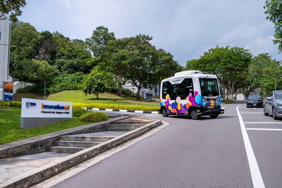 The NUSmart Shuttle service will operate on the Kent Ridge Campus