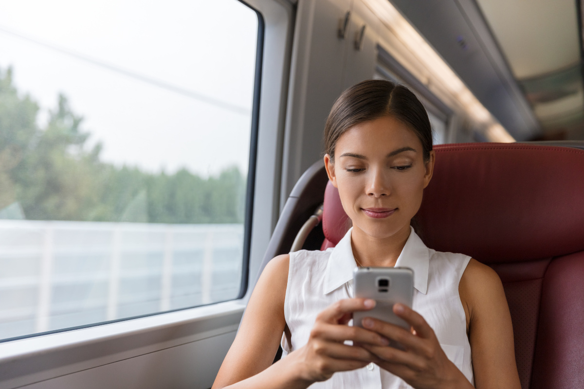 The technology enables rail companies to offer more digital services to passengers