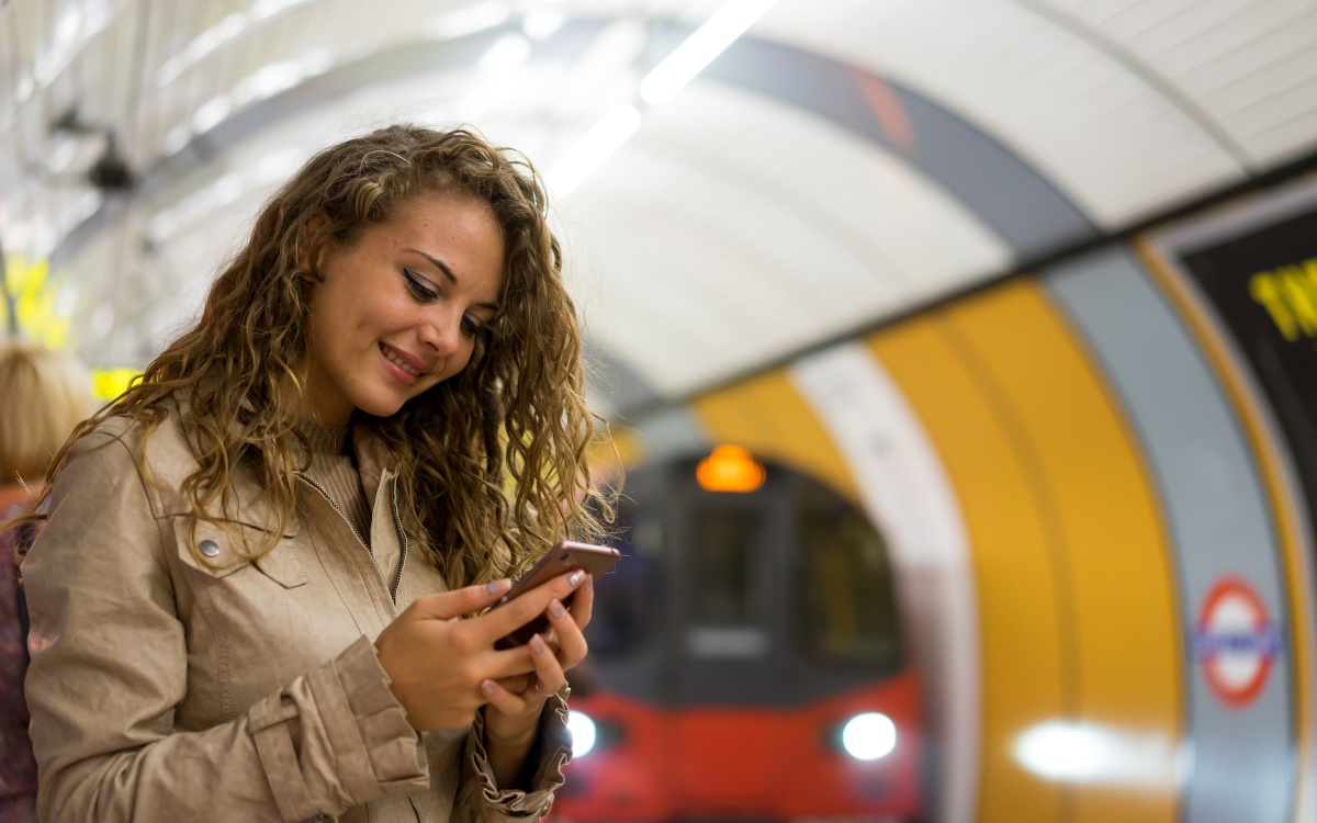 TfL began collecting the data from passengers via wi-fi this week