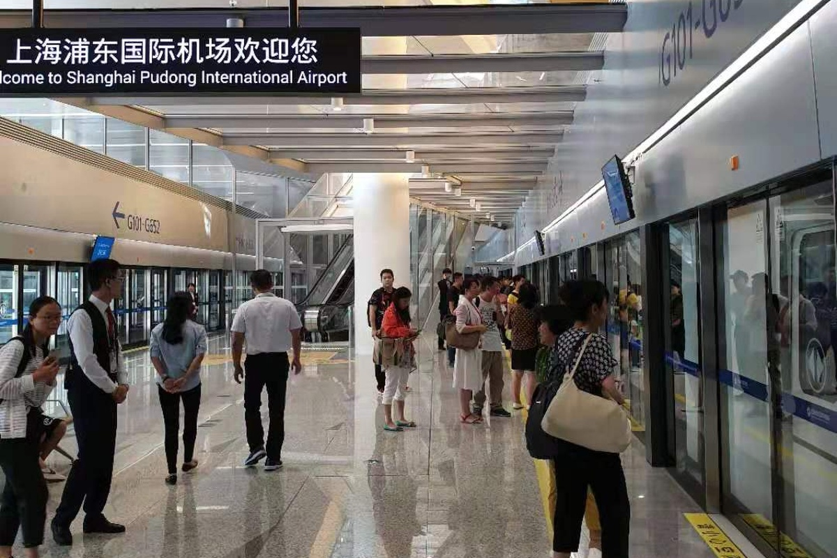 Operation of Pudong metro in Shanghai is underway. Copyright: Shanghai Keolis