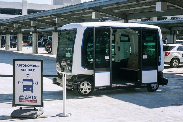 Austin airport moves into public testing of driverless shuttle