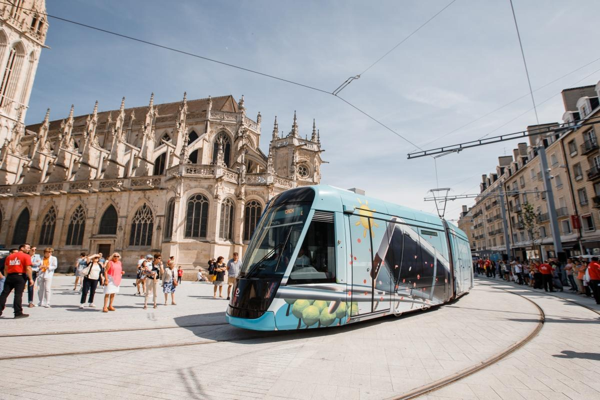 The new tram system will serve 36 stations and form the backbone of the Twisto network