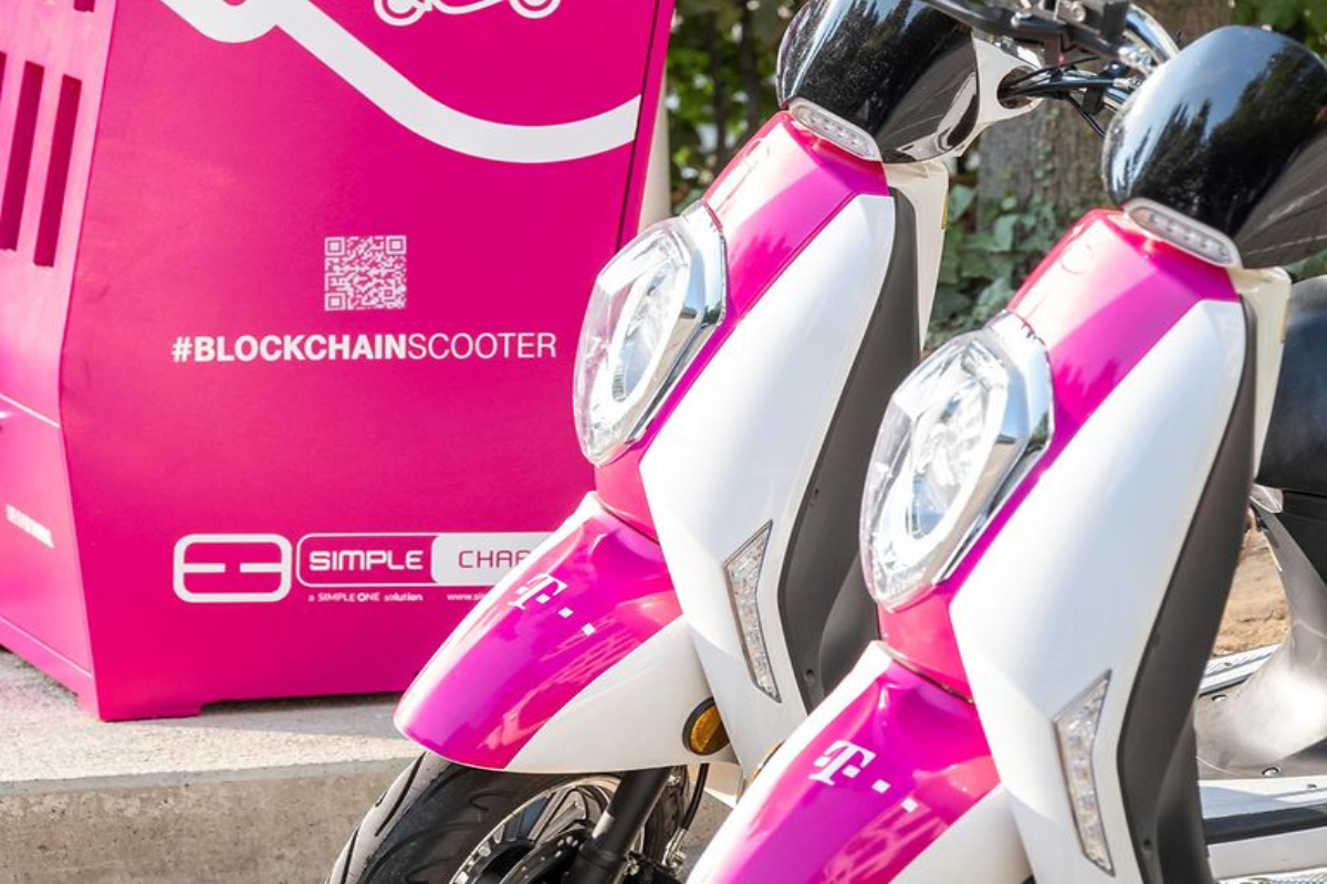 The e-scooters will be used by Deutsche Telekom employees at its Bonn HQ