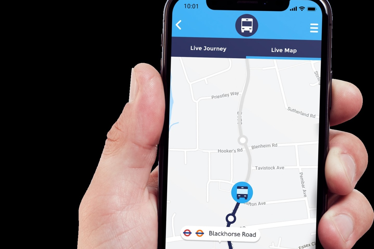 Live data will be used to update passengers on the status of their journeys