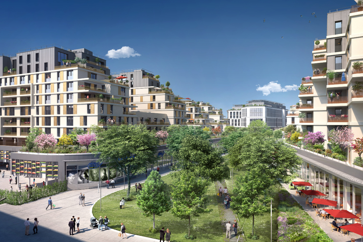 The Issy Coeur de Ville eco-neighbourhood aims to meet today's social challenges