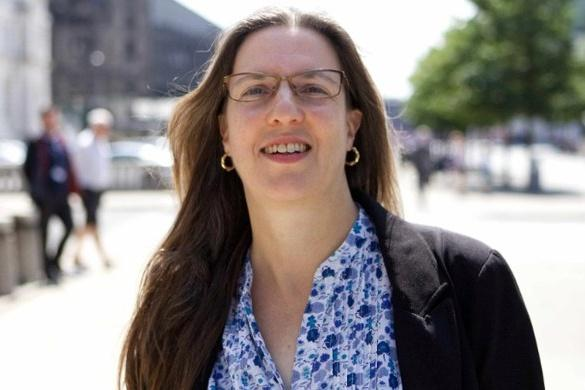 Laura Robertson-Collins: Liverpool's first Climate Champion