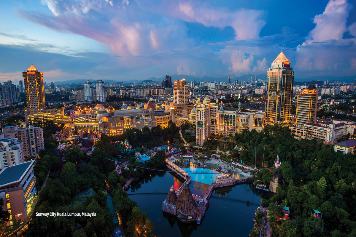 Sunway City Kuala Lumpur, one of the Sunway Group's integrated townships. Picture: Sunway Group