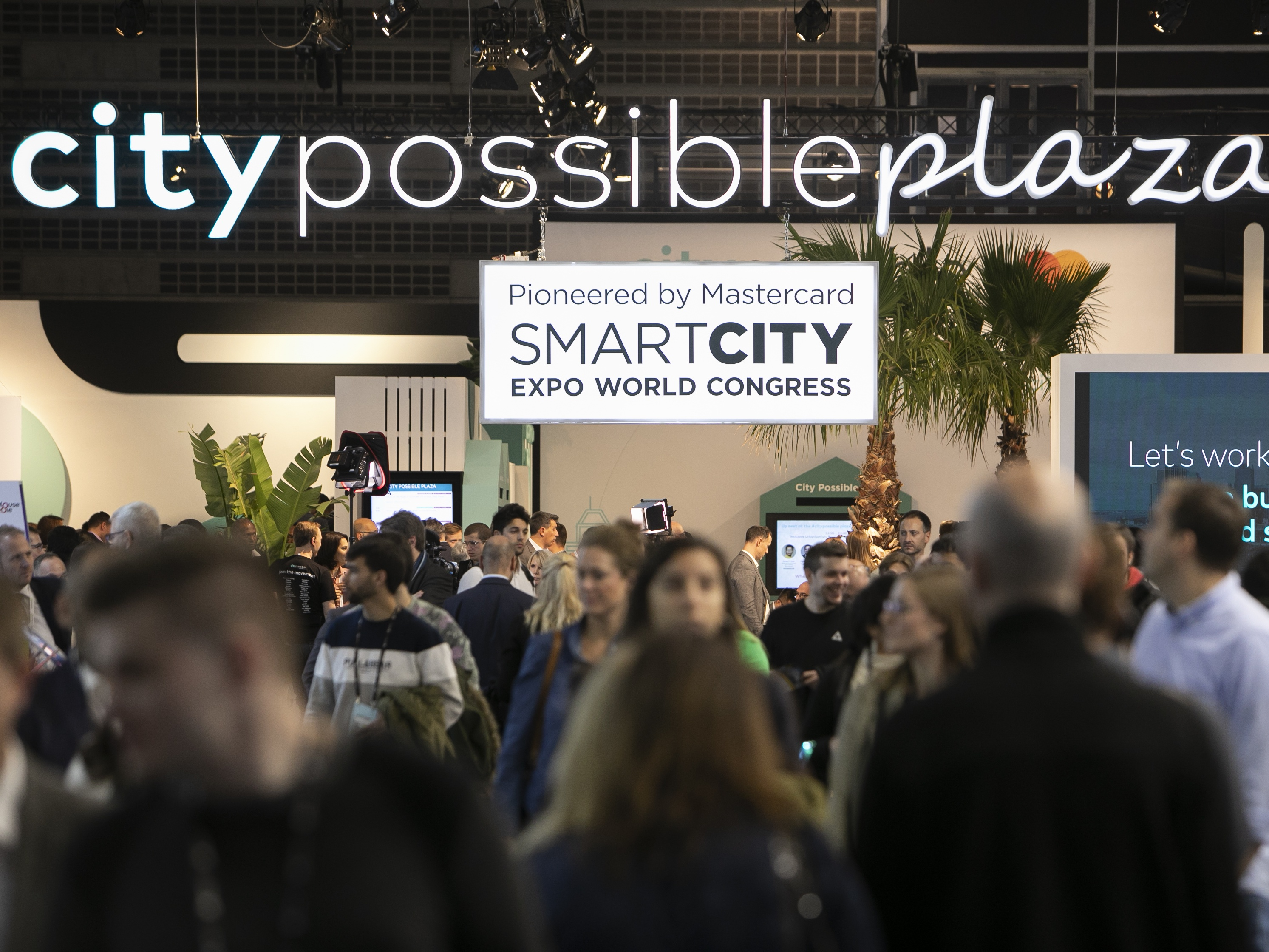 Image: City Possible Plaza at Smart City Expo World Congress