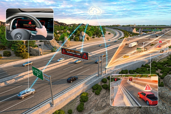 Continental launches smart intersections with wrong-way driver detection in Michigan