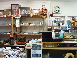 Kamikatsu's re-use shop. Image: Zero Waste Academy