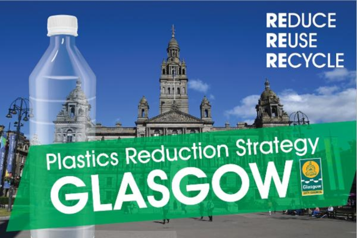 Glasgow wants to be rid of unnecessary plastic by 2030