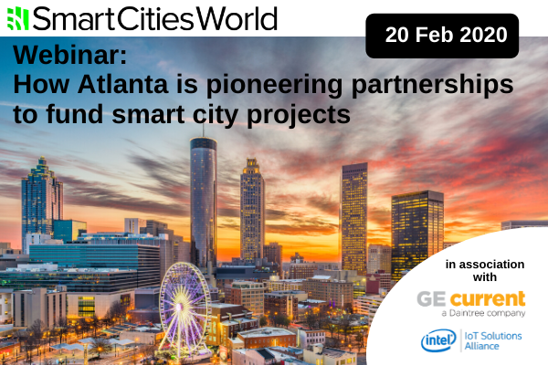 WEBINAR: How Atlanta is pioneering partnerships to fund smart city projects