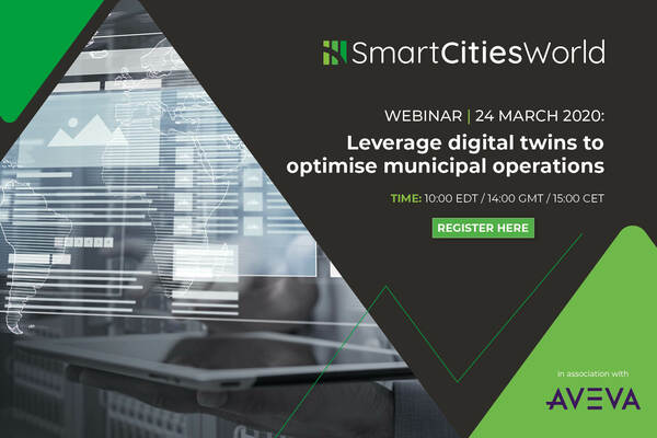 ON-WEBINAR: Leverage digital twins to optimise municipal operations