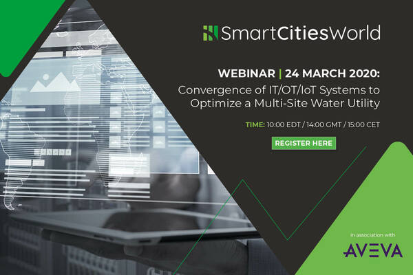 WEBINAR: Convergence of IT/OT/IoT Systems to Optimize a Multi-Site Water Utility