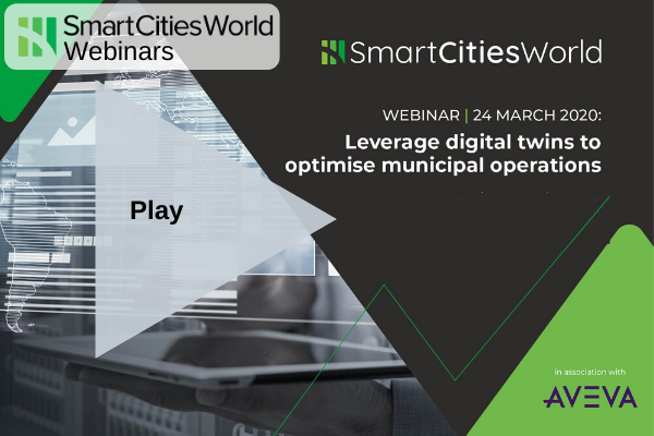 WEBINAR: Leverage digital twins to optimise municipal operations