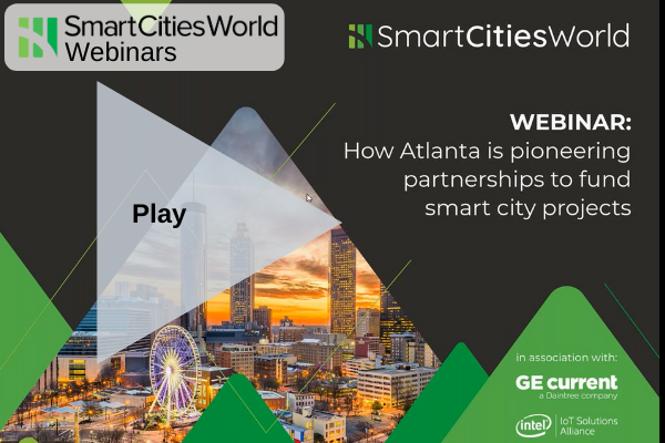 OnDemand WEBINAR: How Atlanta is pioneering partnerships to fund smart city projects