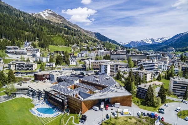 Davos upgrades lighting ahead of WEF meeting