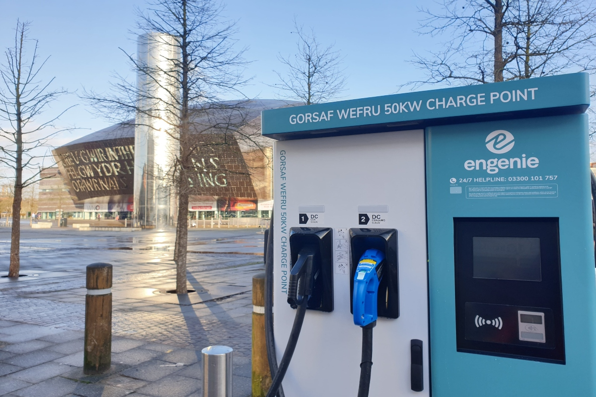 Providing an electric car infrastructure is a key focus for Cardiff Council