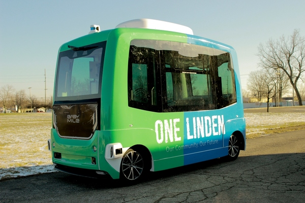 Autonomous shuttles deployed in Columbus neighbourhood