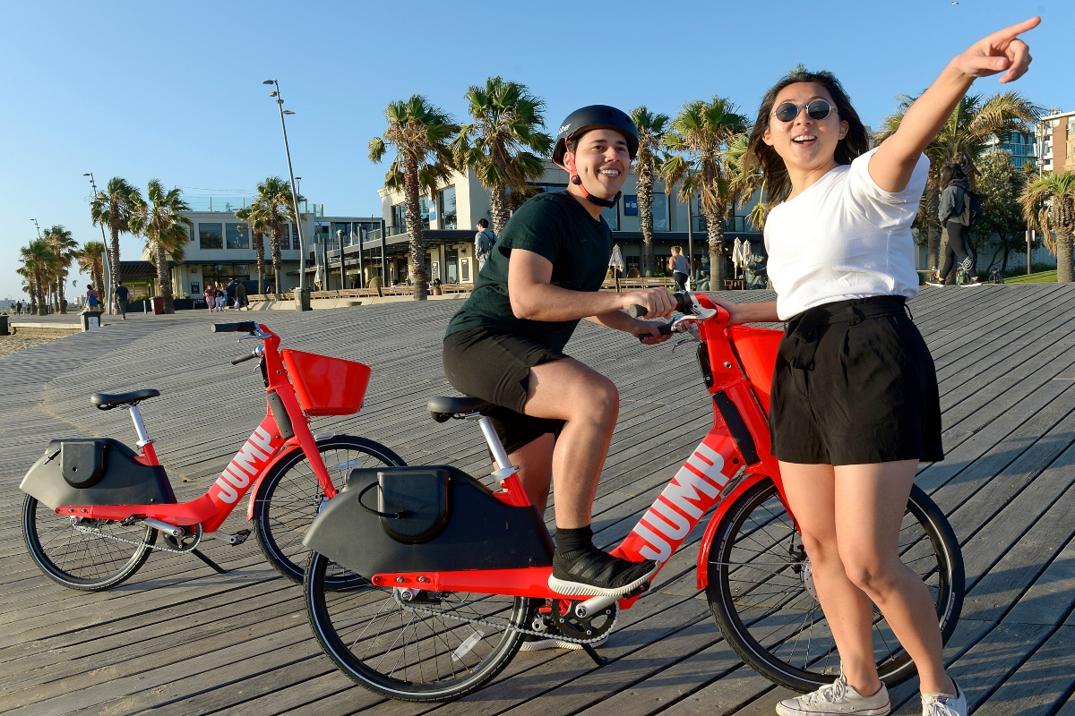 The joint MoU outlines how Jump e-bikes should be parked and maintained