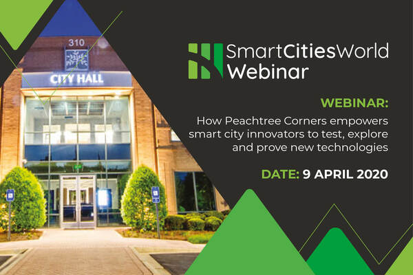 WEBINAR: How Peachtree Corners empowers smart city innovators to test, explore and prove new technologies