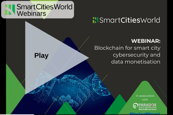 OnDemand WEBINAR: Blockchain for smart city cybersecurity and data monetisation