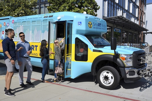 Sacramento launches US' largest on-demand public microtransit system