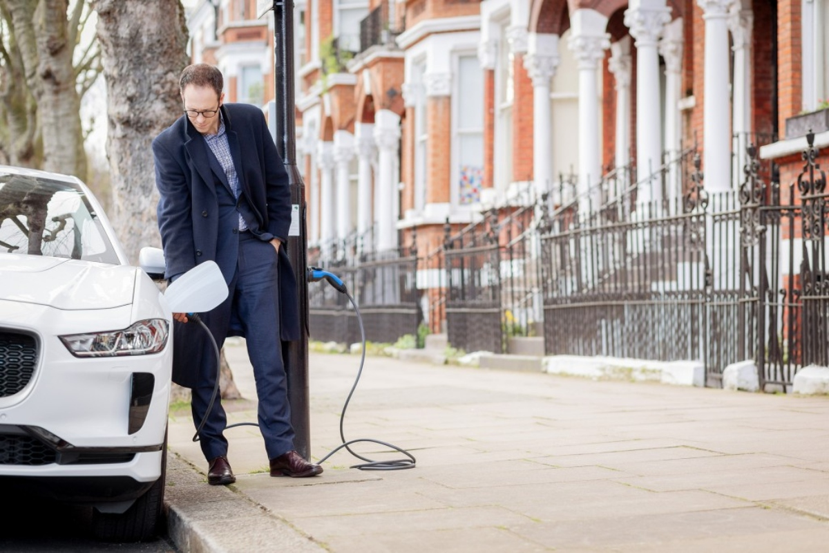 Residents in London's Sutherland Avenue can use charge points at various locations