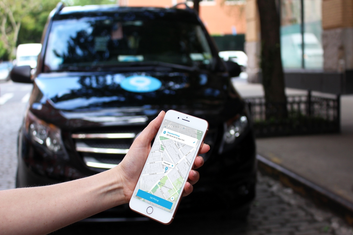 Trial will run in partnership with ViaVan, which runs a shared ride service across Milton Keynes