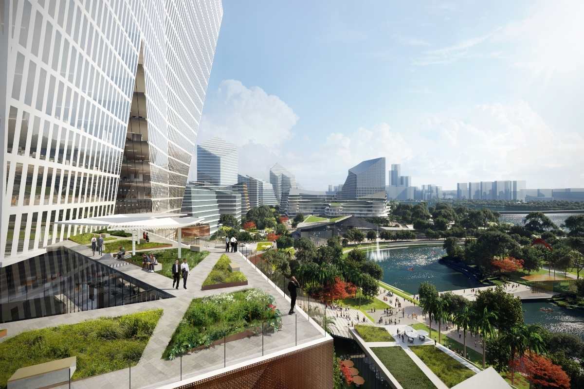 Tencent unveils plans for futuristic 'Net City' in Shenzhen