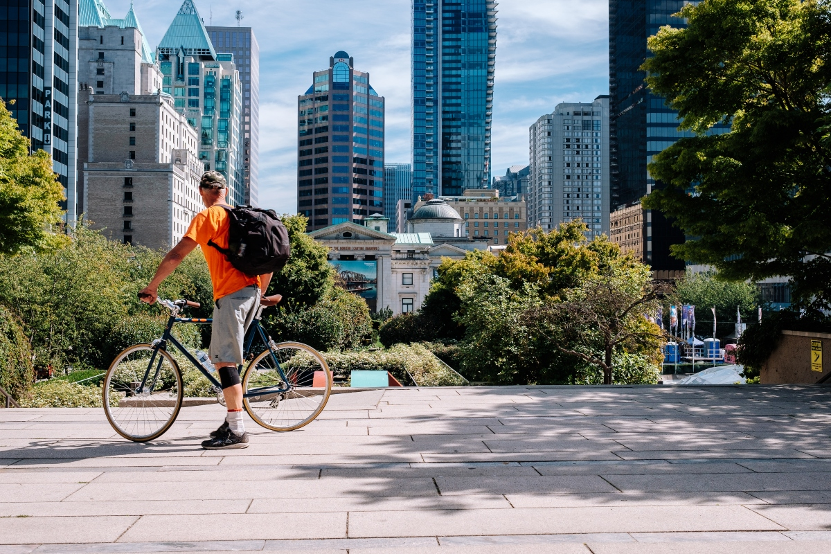 Like many cities, Vancouver wants to prioritise routes for cycling and walking