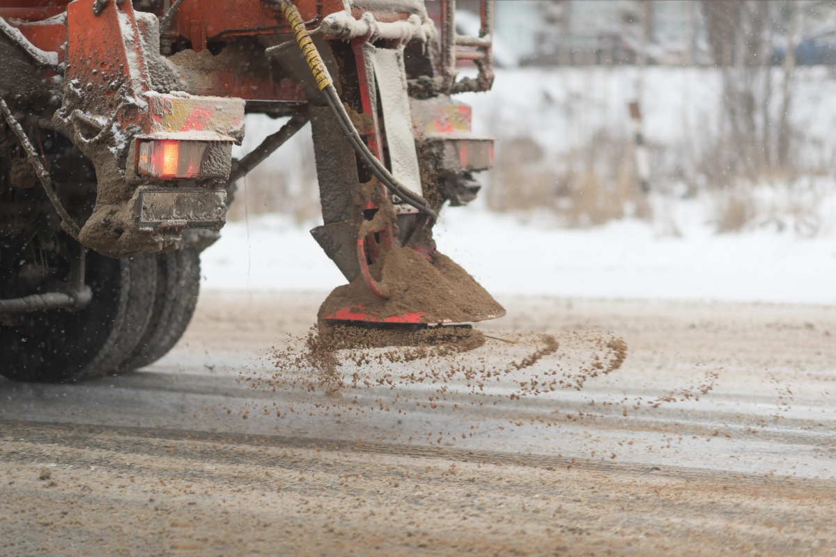 Data will allow Spencer to treat surfaces before hazardous road conditions occur