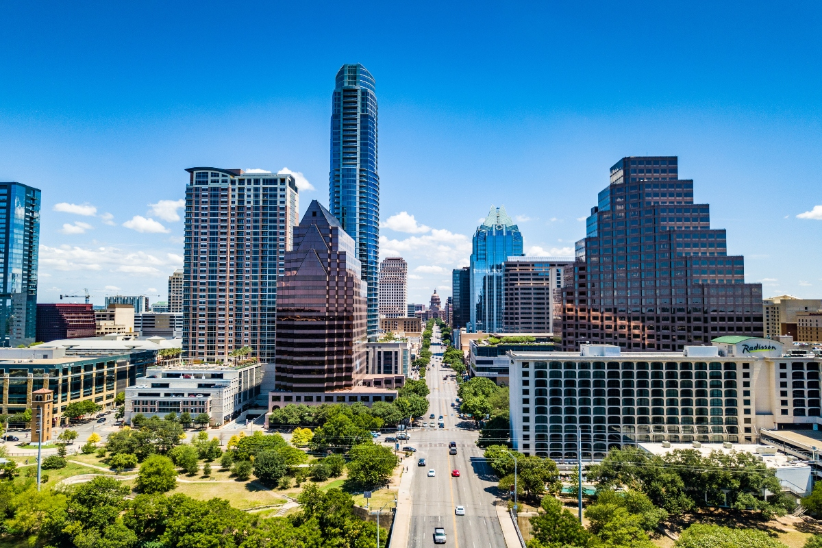 Capital Metro serves the city of Austin, Texas, and the surrounding areas