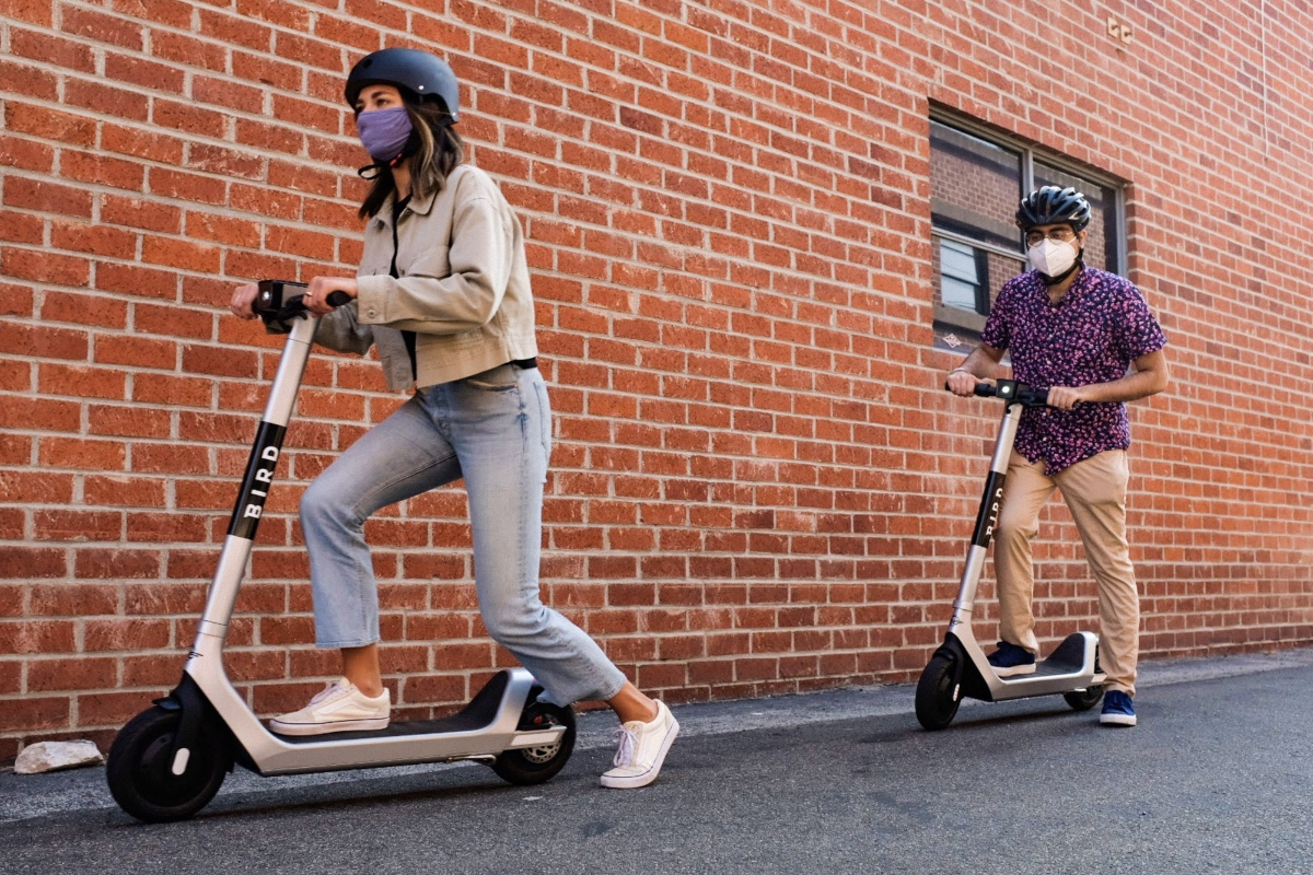 The fleet of Bird Two e-scooters will launch in Yonkers later this month