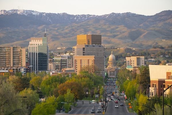 Boise in Idaho has pledged to plant one tree for each household within the city