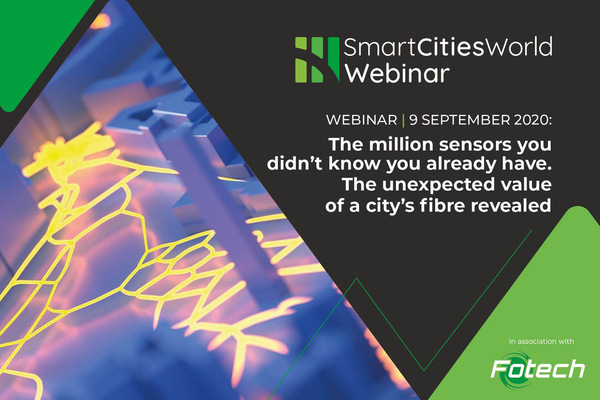 WEBINAR: The million sensors you didn't know you already have. The unexpected value of a city's fibre revealed