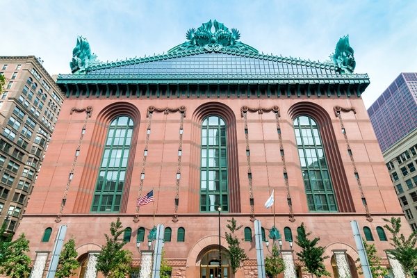 The Harold Washington Library in Chicago