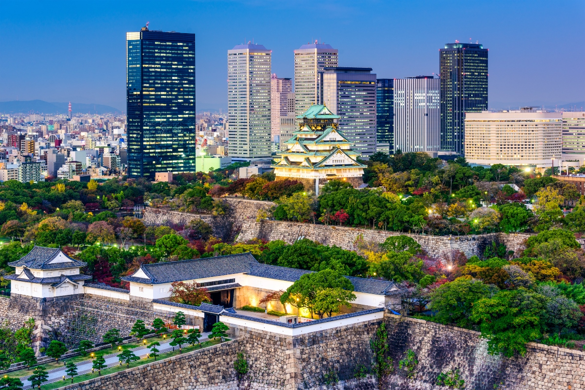Osaka will be host to the smart cities accelerator at the end of 2020