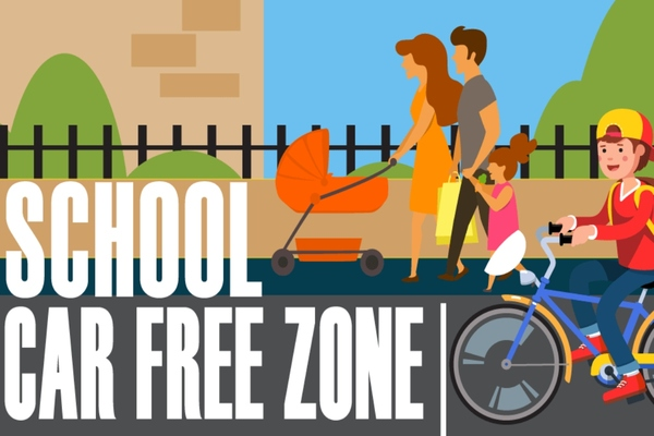Glasgow to introduce car free zones around 21 city primary schools